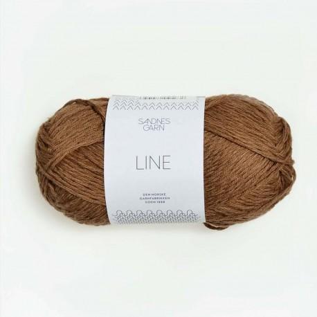 Sandnes Line Gyllen Brun