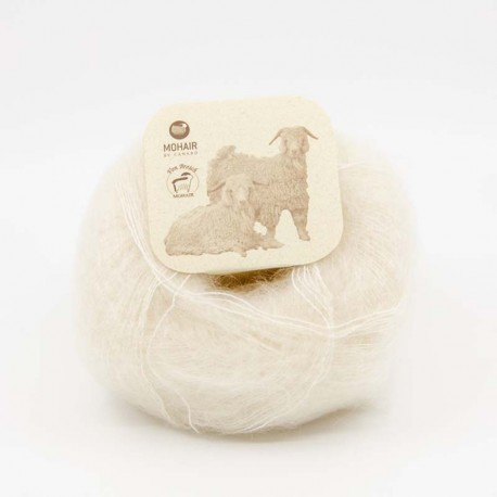 Mohair by Canard Brushed Lace Hvid 3000