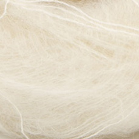 Mohair by Canard Brushed Lace Hvid 3000 Detail