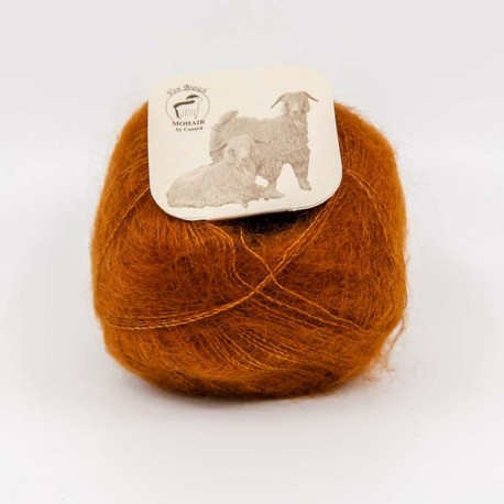 Mohair by Canard Brushed Lace Cognac 3048