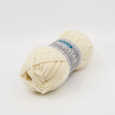 Filcolana Peruvian Highland Wool Natural White 101