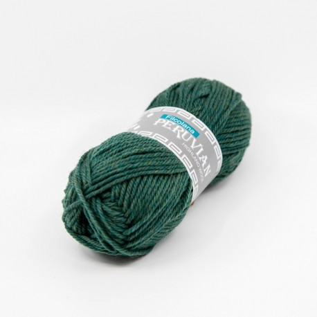 Filcolana Peruvian Highland Wool Sea Green melange 801