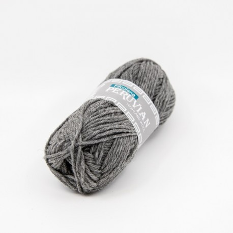 Filcolana Peruvian Highland Wool Medium Grey melange 955