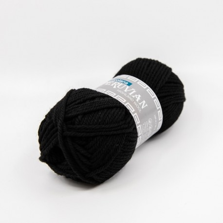 Filcolana Peruvian Highland Wool Black 102