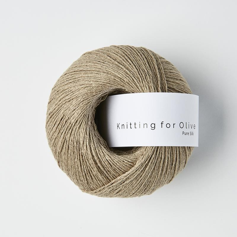 Knitting for Olive Pure Silk Cardamom
