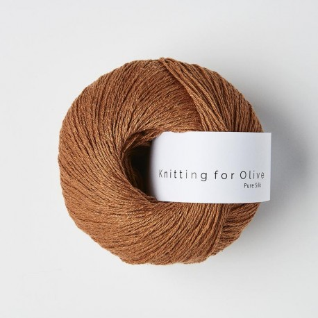 Knitting for Olive Pure Silk Copper