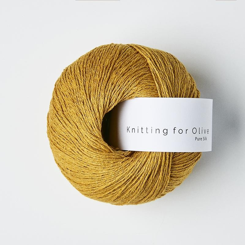 Knitting for Olive Pure Silk Sunflower