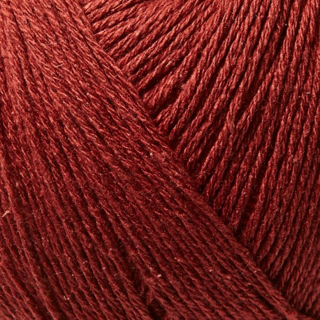 Knitting for Olive Pure Silk Gooseberry Red Detail