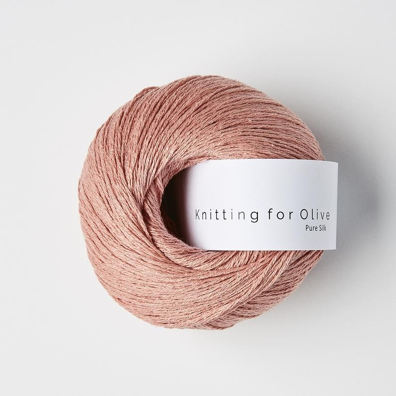 Knitting for Olive Pure Silk Rhubarb Juice
