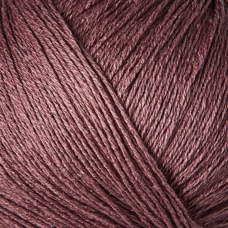 Knitting for Olive Pure Silk Plum Detail