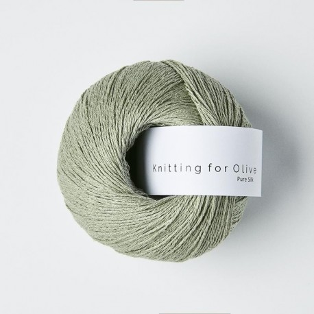Knitting for Olive Pure Silk Dusty Artichoke