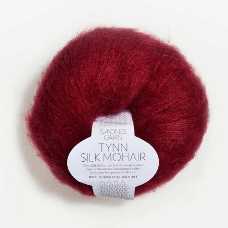 Sandnes Tynn Silk Mohair Dyp Rod 4236