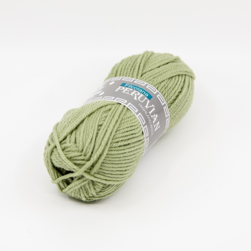 Filcolana Peruvian Highland Wool Green Tea 355