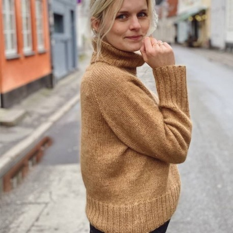 Petite Knit Caramel Sweater Strickanleitung