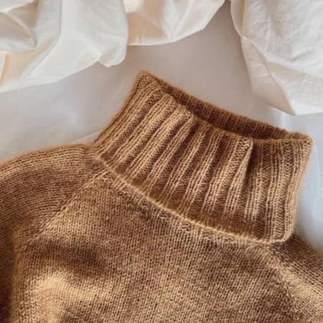 Petite Knit Caramel Sweater Strickanleitung
