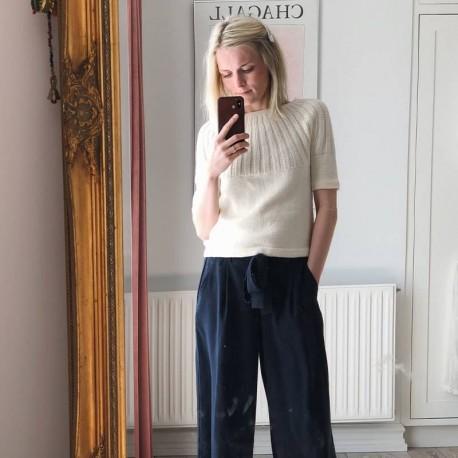Sunday Tee Petite Knit Anleitung