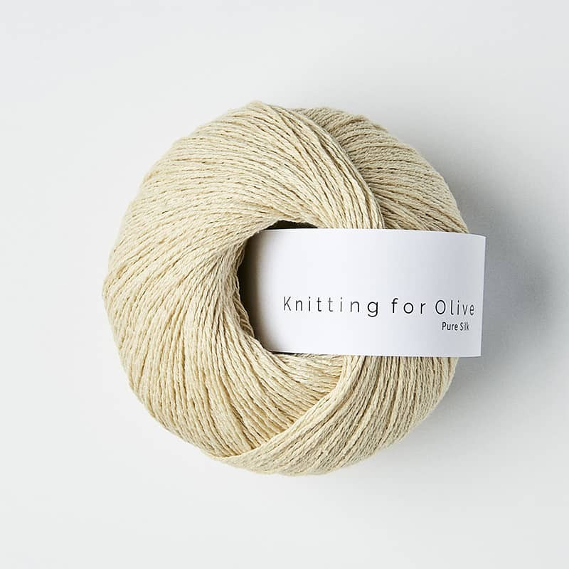 Knitting for Olive Pure Silk Wheat