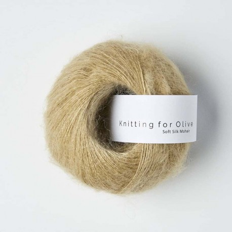 Knitting for Olive Soft Silk Mohair Trenchcoat