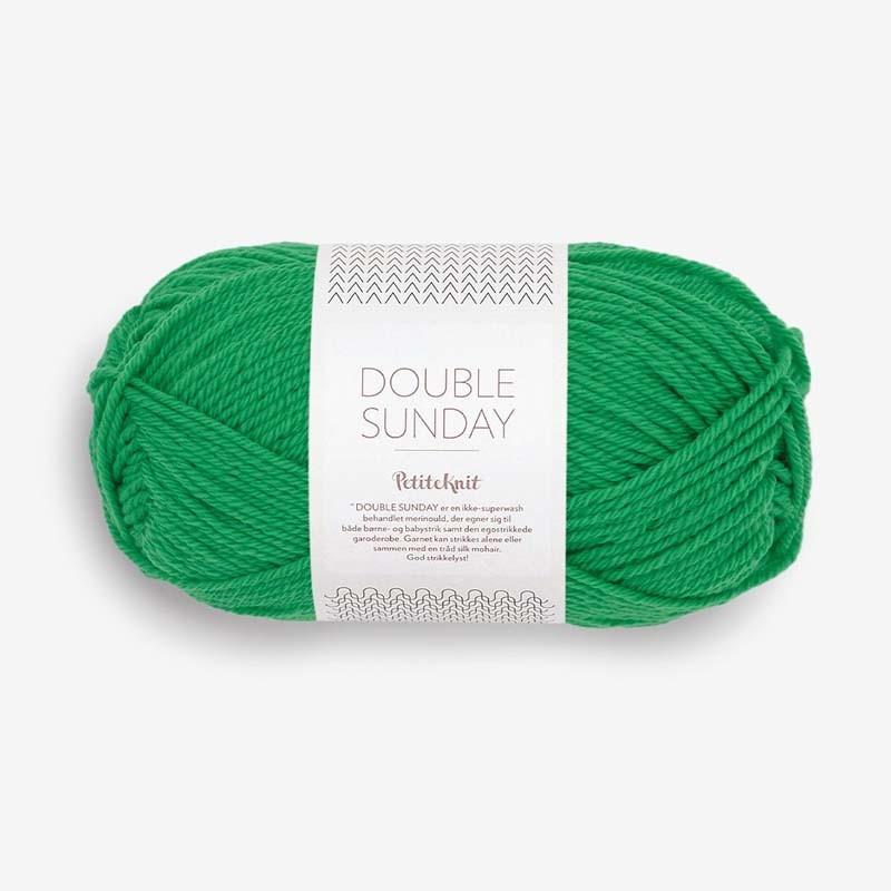 Sandnes Double Sunday Statement Green 8236