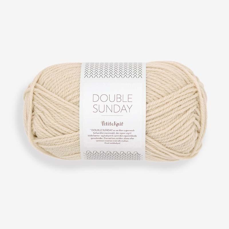 Sandnes Double Sunday Almond 2511