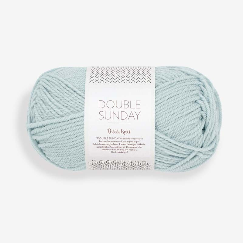 Sandnes Double Sunday Pale Blue 5930