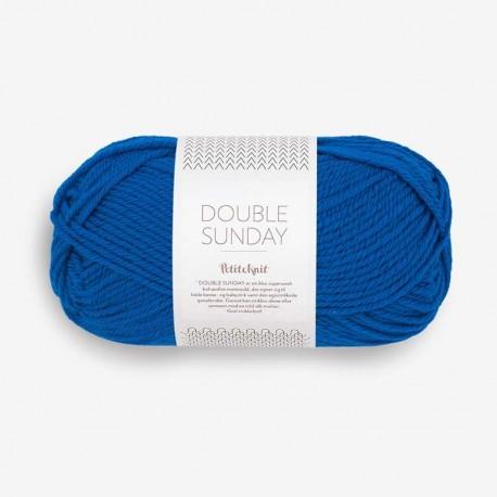 Sandnes Double Sunday Electric Blue 6046