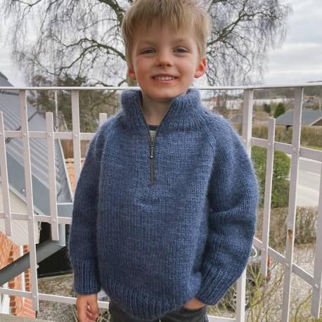 PetiteKnit Zipper Sweater Junior