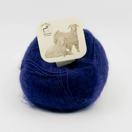 Mohair by Canard Brushed Lace Dyp bla 3018
