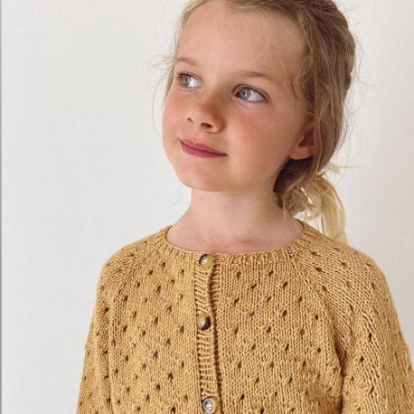 PetiteKnit Annas Sommercardigan Junior