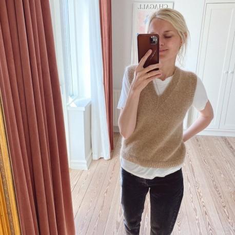 PetiteKnit Stockholm Pullunder V-Ausschnitt