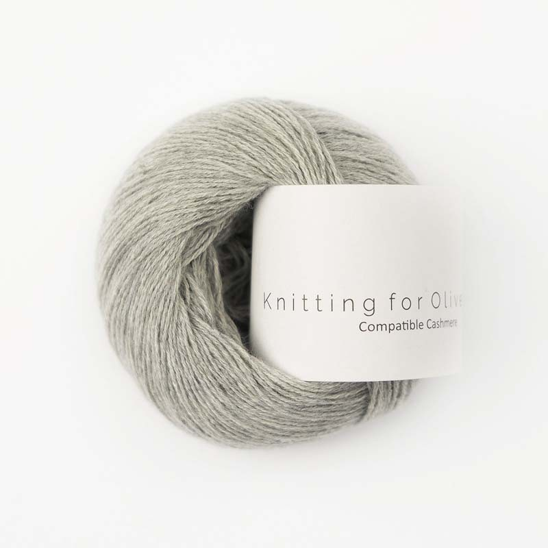 Knitting for Olive Compatible Cashmere Gray Lamb