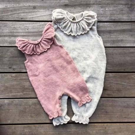 Daisy Jumpsuit Knitting for Olive Strickset