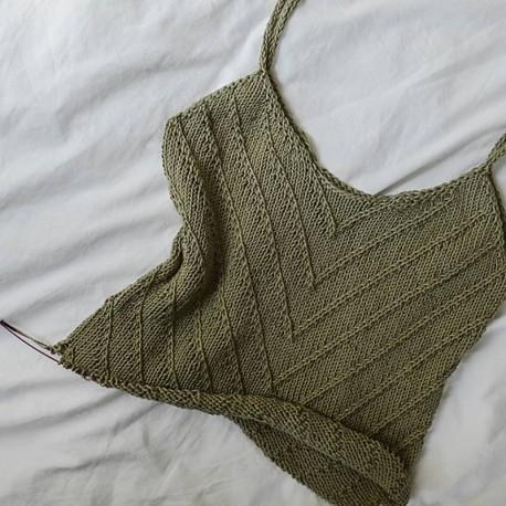 Lines Summertop Rust Knitwear