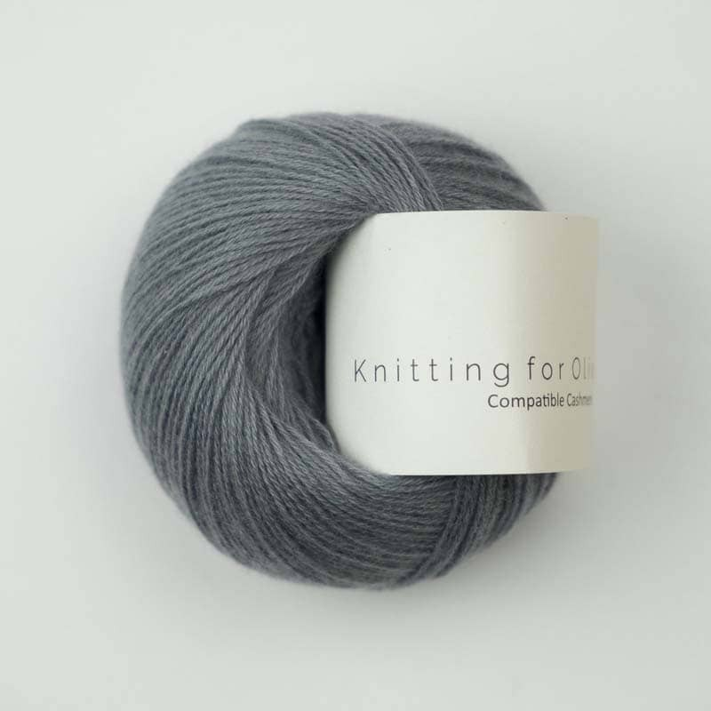 Knitting for Olive Compatible Cashmere Dusty Dove Blue