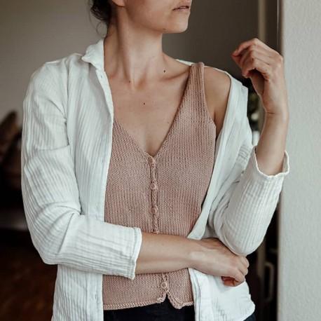 Maggie Cami von st.effie studio Stricksest mit Wolle und Anleitung