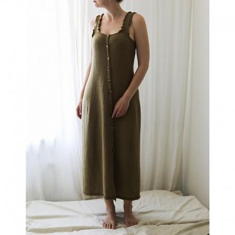 Alexandra Dress von st.effie studio Stricksest mit Wolle und Anleitung
