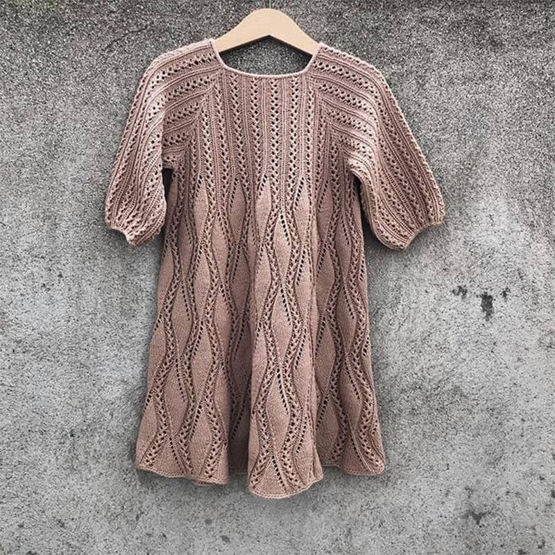 Knitting for Olive - Vanilla Dress Strickanleitung und Wolle