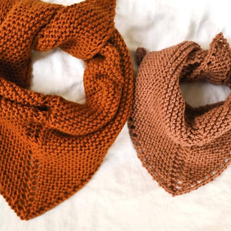 Rust Knitwear Rusty Bandana Strickanleitung und Wolle