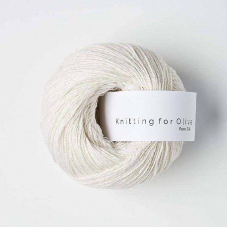 Knitting for Olive Pure Silk Cream