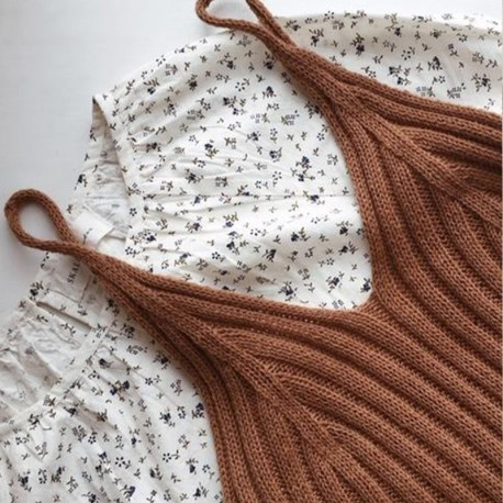 My Favourite Things Knitwear Camisole No 2 Strickset