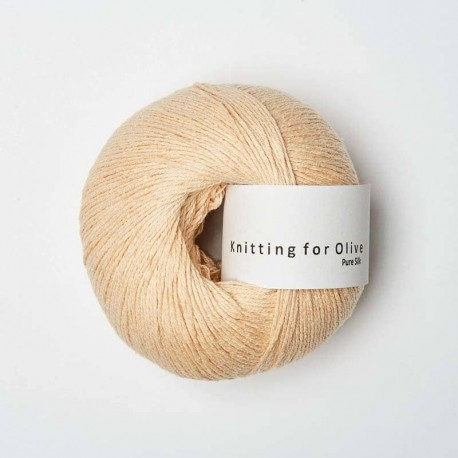 Knitting for Olive Pure Silk Soft Peach