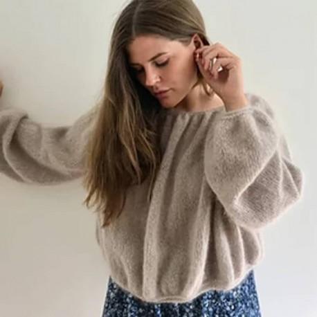 Bubble Sweater Rilleruth Strickset