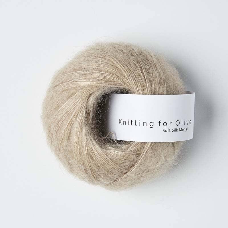Knitting for Olive Soft Silk Mohair Powder