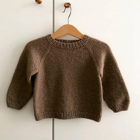 Mrs Deer Knits Simple Sweater Mini Strickanleitung
