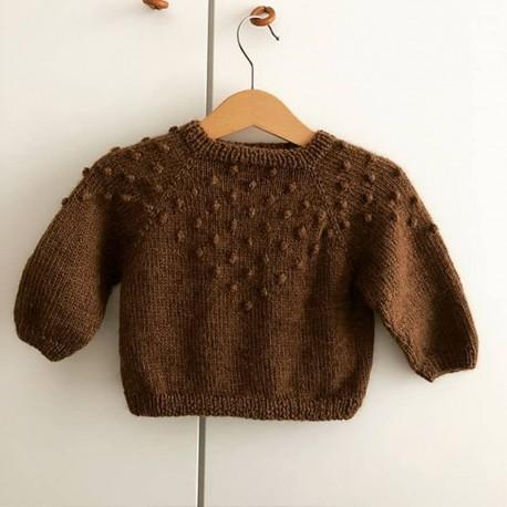 Bobbel Sweater Mrs Deer Knits Strickset