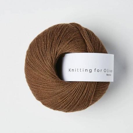 Knitting for Olive Merino Dark Cognac