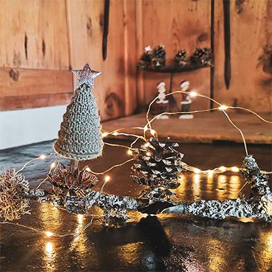 Gestrickte Dekoideen für deine Weihnachtsgeschenke